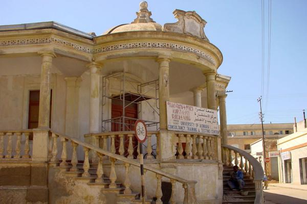 Another piece of classical architecture in Asmara | Asmara Architecture | Eritrea