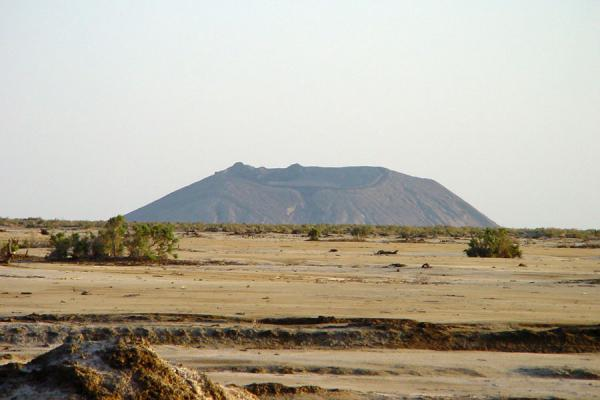 Foto di An active volcano near Badda in the Danakil DepressionBadda - Eritrea