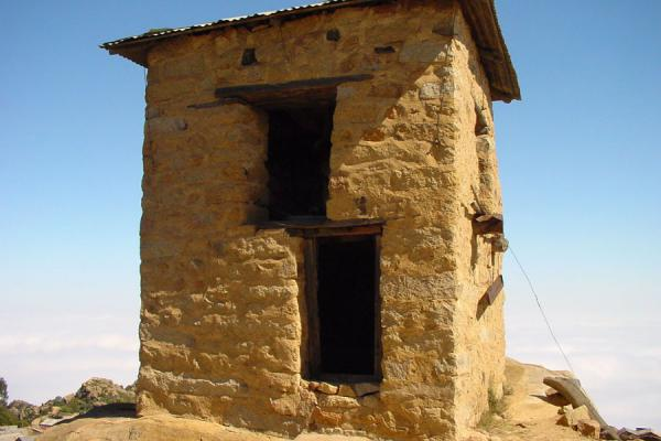 Picture of Bell tower of Debre Bizen monastery