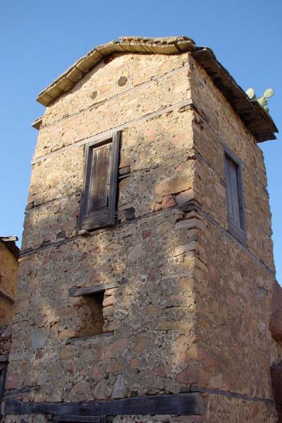 One of the storage towers of the monastery | Debre Bizen | Eritrea