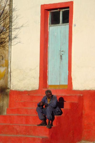 Enjoying a rest in Asmara | Eritrean colours | Eritrea