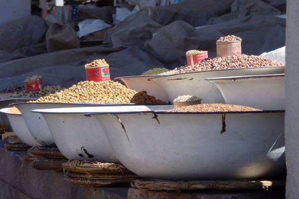 Picture of Eritrean Markets (Eritrea): Grain market in Asmara