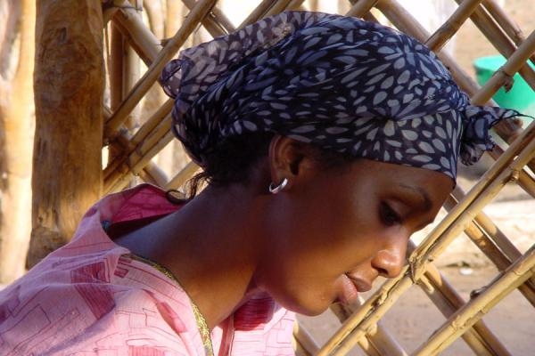 A local beauty in the village of Galeelo | Eritrean people | Eritrea