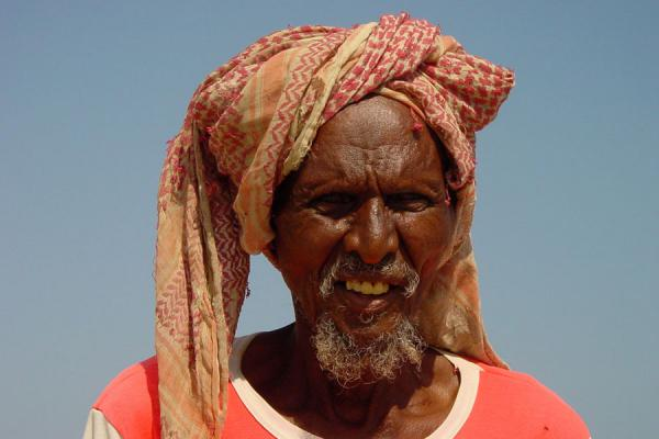 Picture of Old caretaker near Zula