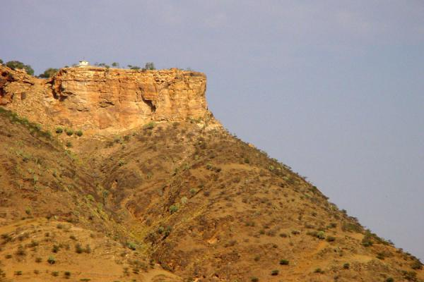 House on a cliff | Hamm | Eritrea