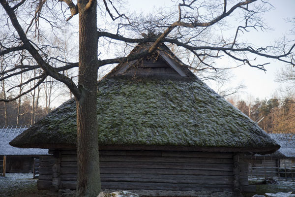 One of the farm houses beloning to the Jüri-Jaagu farm | Ests Openlucht Museum | Estland