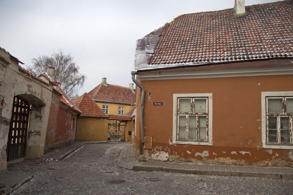 Quiet corner in Toompea or the Upper Town | Old Tallinn | Estonia