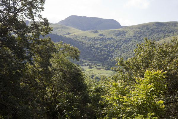 Picture of Phophonyane Falls (Eswatini): View towards the west close to the Phophonyane falls