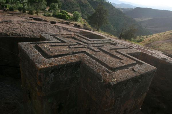 Roof of Bet Giyorgis church | Bet Giyorgis Church | Ethiopia