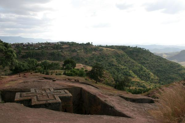 Bet Giyorgis church hewn out of the earth | Bet Giyorgis Church | Ethiopia