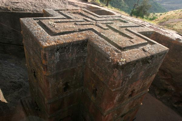 The famous roof of Bet Giyorgis church | Bet Giyorgis Church | Ethiopia