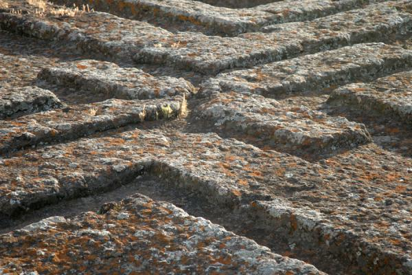 Close-up of the famous roof of Bet Giyorgis | Bet Giyorgis Church | Ethiopia