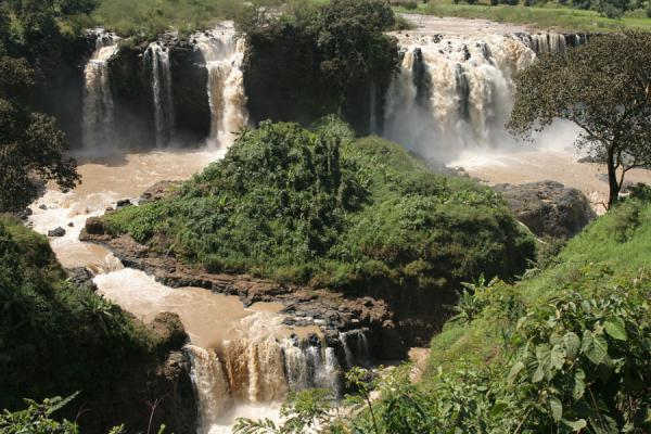 Main waterfalls of Blue Nile falls | Blue Nile Falls | Ethiopia