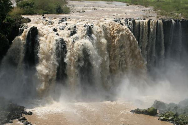 Main waterfall in the Blue Nile falls, south of Bahir Dar | Blue Nile Falls | Ethiopia