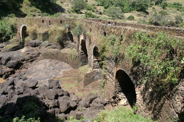 The Portuguese bridge still serves visitors to Blue Nile falls | Blue Nile Falls | Ethiopia