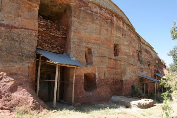 Front of Debre Tsion church | Debre Tsion church | Ethiopia