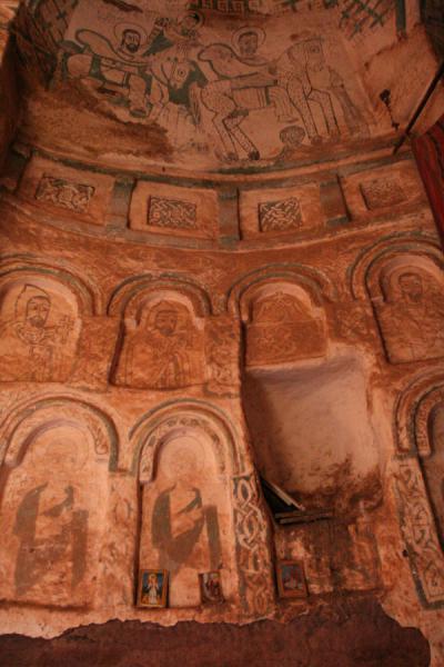 Interior of Debre Tsion church | Debre Tsion church | Ethiopia