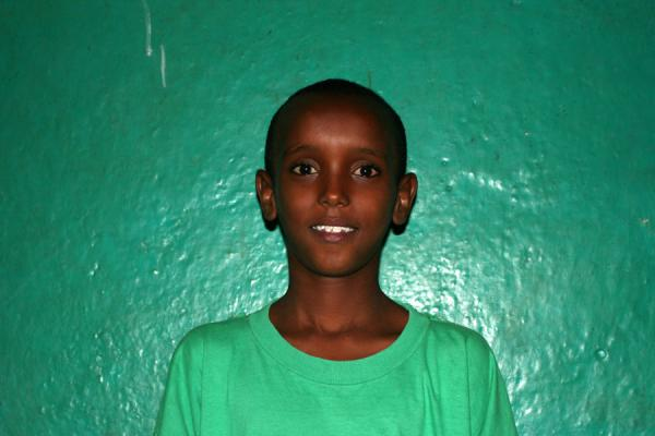 Picture of Ethiopian kids (Ethiopia): Ethiopian kid from Dire Dawa: sweet Wilson