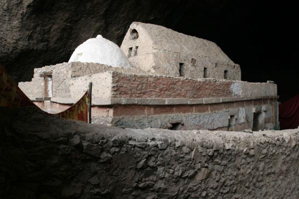 Picture of Genata Maryam Medhane Alem (Ethiopia): Mekina Medhane Alem church was built inside a cave