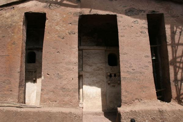 Picture of Genata Maryam Medhane Alem (Ethiopia): Genata Maryam church seen from outside