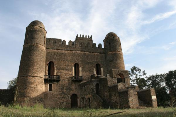 Foto van Fasil Castle seen from a distanceGonder - Ethiopië
