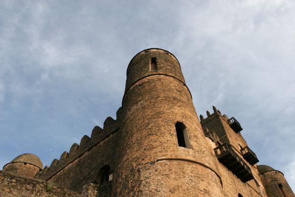 Towers at Fasil Castle | Fasil Ghebbi | Ethiopia