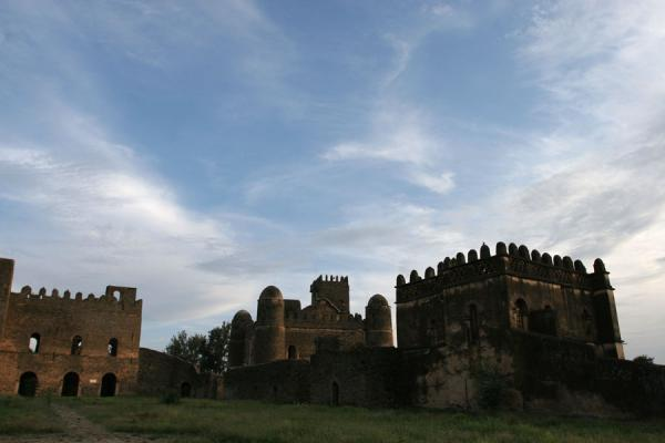 Picture of Gonder: castles in the Royal Enclosure or the Fasil Ghebbi - Ethiopia - Africa