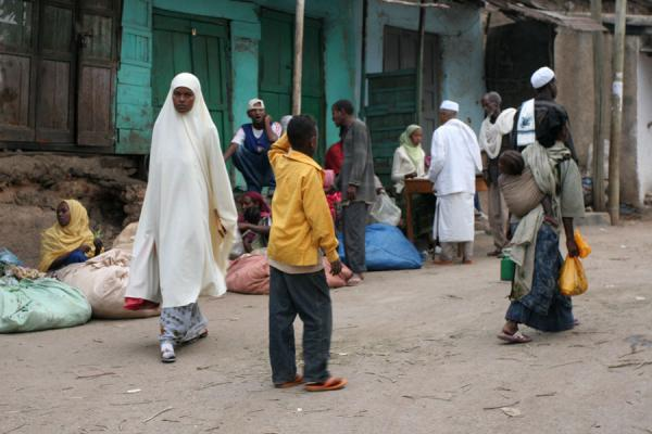Picture of Playing kids in the streets of Harar