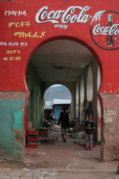 Picture of Commercially used arches in old city of Harar