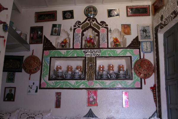 Picture of Interior of typical Harar house