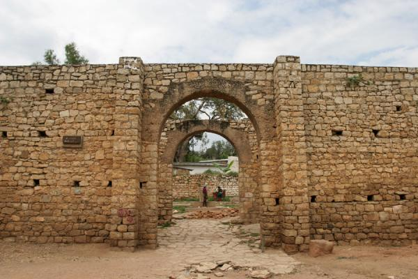 Picture of Buda gate: one of the 6 city gates of Harar
