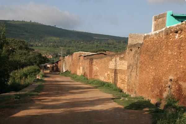 Part of the city wall near Sanga Gate | Harar | Ethiopia