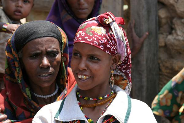 Photo de Typical Koremi women - l'Ethiopie - Afrique