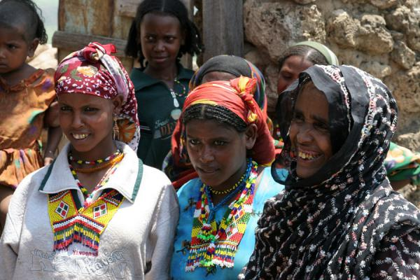 Two of the most remarkable Koremi girls I saw in the village | Koremi | Ethiopia