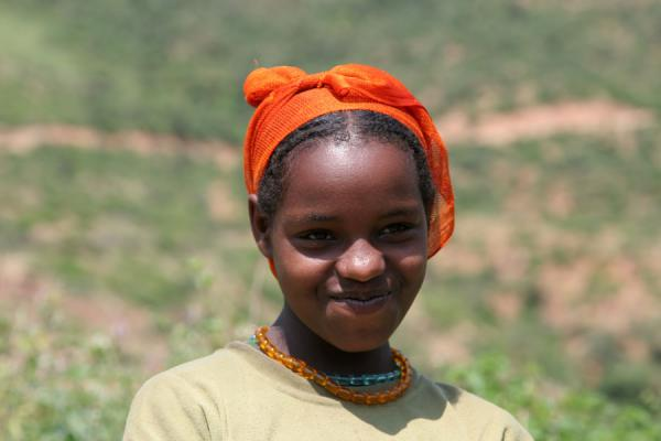Young Koremi girl | Koremi | l'Ethiopie