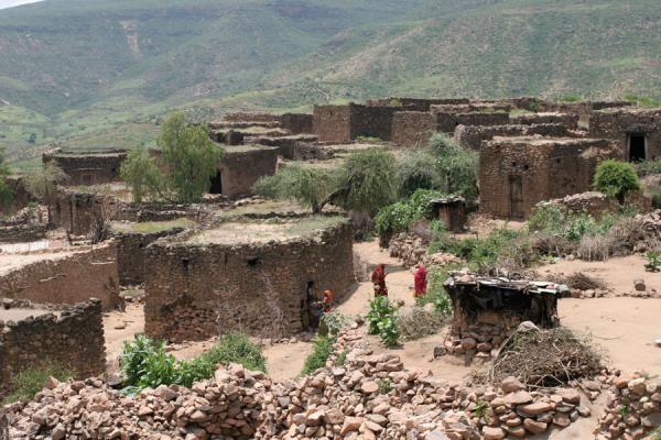 View over Koremi village from the mosque | Koremi | Etiopia