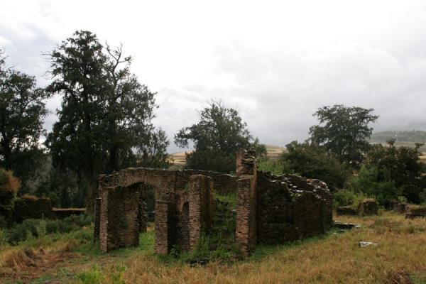 Picture of Personal chapel of Queen Mentewab, part of Kuskuam palace complex