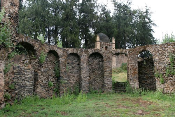 Personal chapel the Queen with alcoves for prayer during menstruation | Kuskuam | Ethiopia