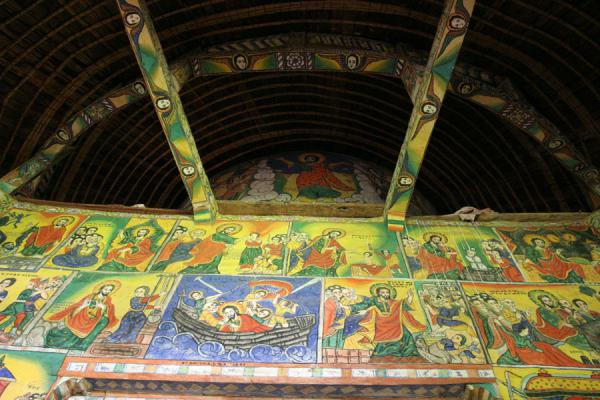 Picture of Lake Tana monasteries (Ethiopia): Roof of Ura Kidane Mihret church