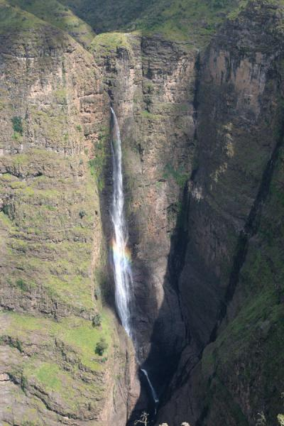 Jinbar waterfall in the Simien Mountains | Simien Mountains | Ethiopia