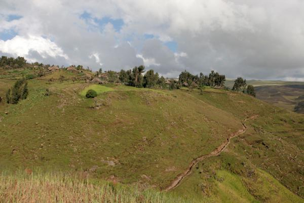 Geech village in the Simien Mountains | Simien Mountains | Ethiopia