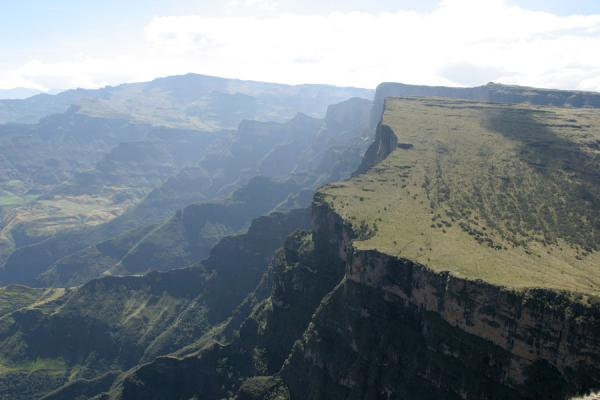 Edge of the highlands seen from Imet Gogo | Simien Mountains | Ethiopia