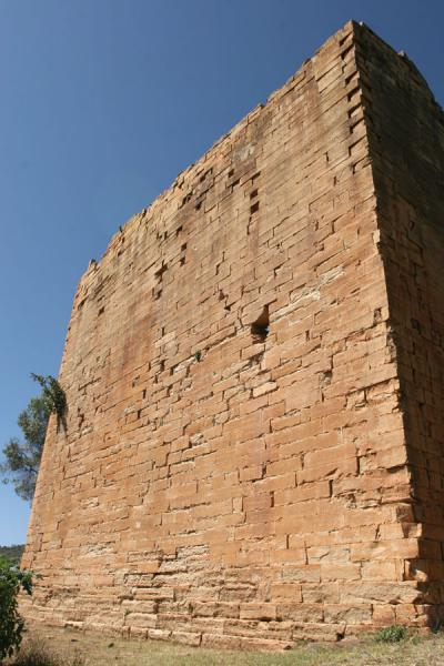 Wall of the ancient temple of Yeha | Yeha | Ethiopia