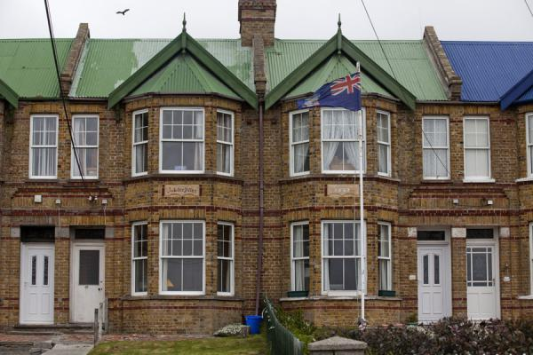 Row of typical houses in Stanley | Stanley | Falkland Islands (Malvinas)