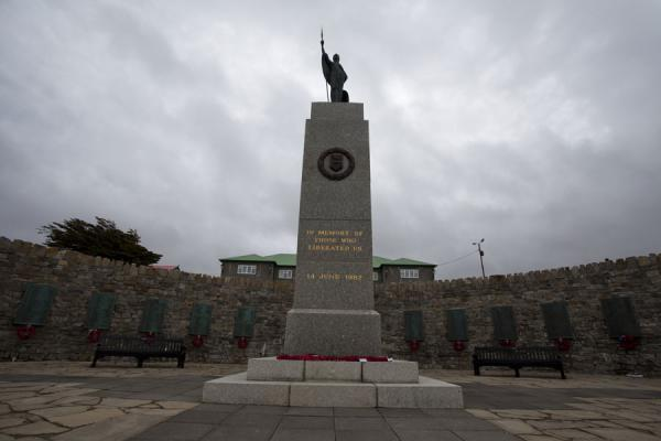 Liberation Monument, in memory of the Falkland War | Stanley | Falkland Islands (Malvinas)