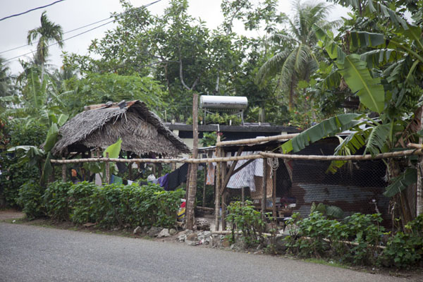 Picture of House along the main street of Porakiet, the Polynesian section of KoloniaKolonia - Federated States of Micronesia