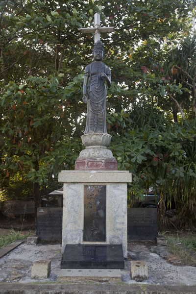 Statue of Buddha in Kolonia | Kolonia Town | Federated States of Micronesia