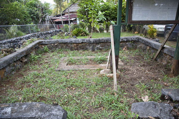Picture of Mass grave of the Sokehs rebels killed by the Germans in 1910-11Kolonia - Federated States of Micronesia