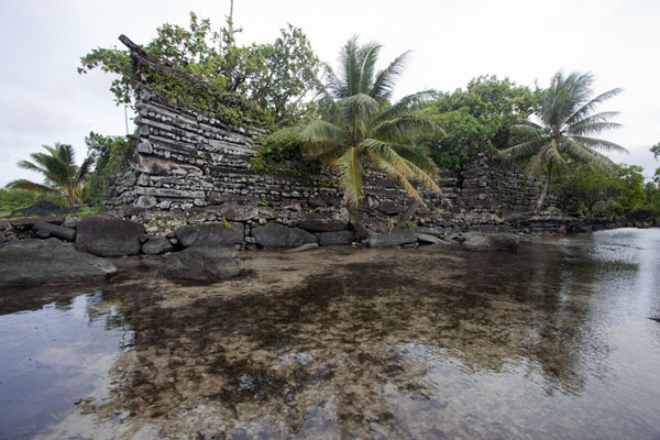 Nan Douwas seen from the canal | Nan Madol | Federated States of Micronesia