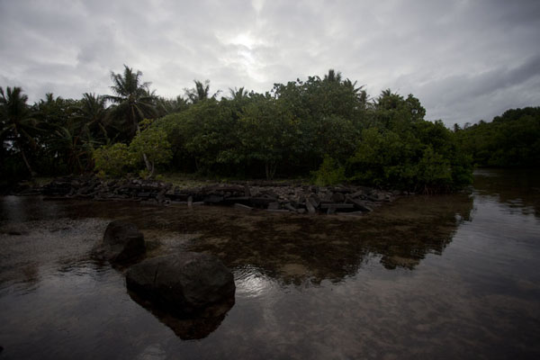 Picture of Looking towards Nan Douwas from the sea-sideNan Madol - Federated States of Micronesia